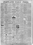 Portland Daily Press: July 16, 1875