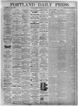 Portland Daily Press: July 20, 1875