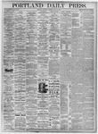 Portland Daily Press: July 22, 1875