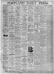 Portland Daily Press: July 23, 1875