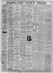 Portland Daily Press: July 24, 1875