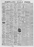 Portland Daily Press: July 30, 1875