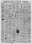 Portland Daily Press: July 31, 1875