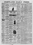 Portland Daily Press: August 3, 1875