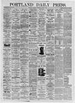 Portland Daily Press: August 5, 1875