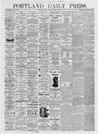 Portland Daily Press: August 6, 1875
