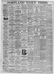 Portland Daily Press: August 7, 1875
