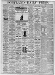 Portland Daily Press: August 9, 1875