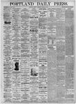 Portland Daily Press: August 10, 1875
