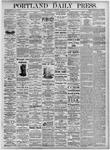 Portland Daily Press: August 11, 1875