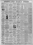 Portland Daily Press: August 12, 1875
