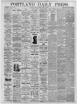 Portland Daily Press: August 13, 1875