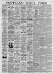 Portland Daily Press: August 14, 1875