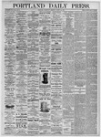 Portland Daily Press: August 18, 1875