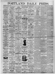Portland Daily Press: August 20, 1875