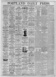 Portland Daily Press: August 21, 1875