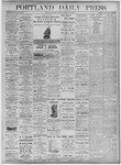 Portland Daily Press: August 23, 1875
