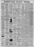 Portland Daily Press: August 24, 1875