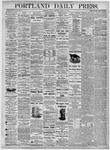Portland Daily Press: August 27, 1875