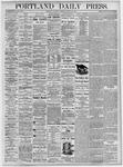 Portland Daily Press: August 28, 1875