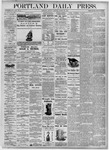 Portland Daily Press: August 30, 1875