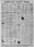 Portland Daily Press: August 31, 1875