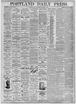 Portland Daily Press: September 3, 1875
