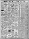 Portland Daily Press: September 7, 1875