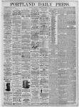 Portland Daily Press: September 8, 1875