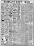 Portland Daily Press: September 9, 1875