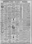 Portland Daily Press: September 11, 1875