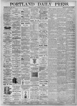 Portland Daily Press: September 14, 1875