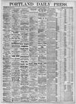 Portland Daily Press: September 22, 1875