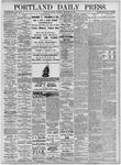 Portland Daily Press: September 27, 1875