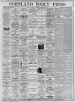 Portland Daily Press: September 30, 1875