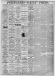 Portland Daily Press: October 2, 1875