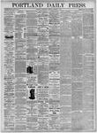 Portland Daily Press: October 6, 1875