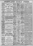Portland Daily Press: October 7, 1875