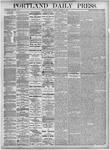 Portland Daily Press: October 8, 1875