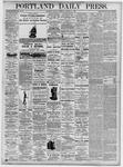 Portland Daily Press: October 11, 1875