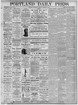 Portland Daily Press: October 13, 1875