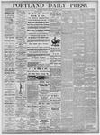 Portland Daily Press: October 18, 1875
