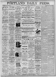 Portland Daily Press: October 21, 1875