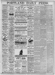 Portland Daily Press: October 25, 1875