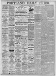 Portland Daily Press: October 28, 1875