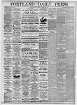 Portland Daily Press: October 29, 1875