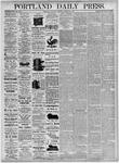 Portland Daily Press: October 30, 1875