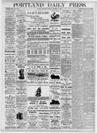 Portland Daily Press: November 1, 1875