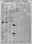 Portland Daily Press: November 2, 1875