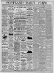 Portland Daily Press: November 3, 1875